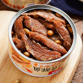 乐隆隆豆香酥鱼140g*3罐