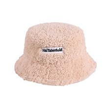 羊羔毛渔夫帽子baby同款