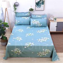 床单单件双人床单枕套亲肤磨毛床单