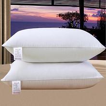 【第二件0元】五星级酒店羽绒枕芯一对装