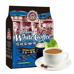 【咖啡树】马来进口白咖啡600g袋