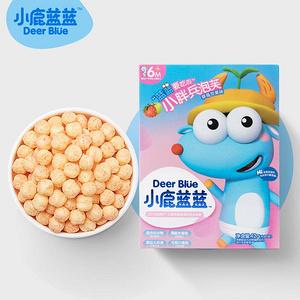 小鹿蓝蓝宝宝泡芙高钙谷物水果泡芙
