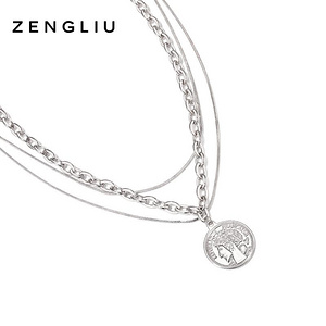 ZENGLIU叠戴多层项链