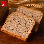 【泓一】奇亚籽黑全麦面包650g
