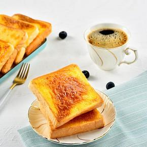 【多鲜】岩烧乳酪吐司面包520克