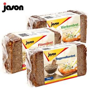 【捷森】德国全麦黑面包500g