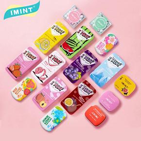 【IMINT旗舰店】网红无糖薄荷糖6盒