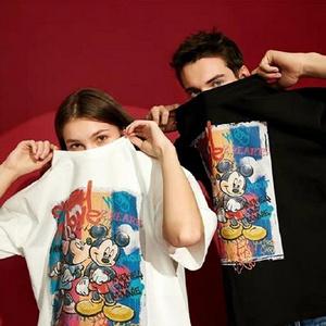 【第二件0元】联名情侣同款短袖t恤