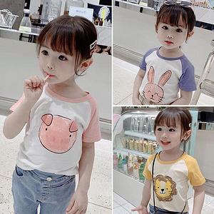 【全尺寸同价】纯棉儿童男女款短袖