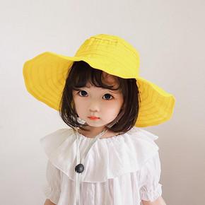 11cm超大帽檐!儿童防晒空顶帽