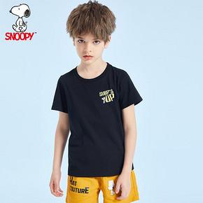 史努比snoopy儿童短袖t恤