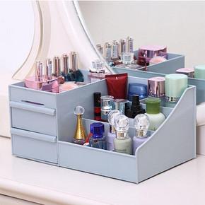 化妆品收纳盒大号梳妆台桌面抽屉首饰品