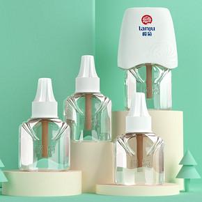 【榄菊】婴儿电热蚊香液4液+1器