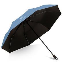 晴雨两用!防紫外线黑胶太阳伞