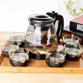 2000ML茶壶玻璃耐高温大容量茶具