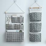 门后挂式收纳挂袋收纳袋布艺置物袋