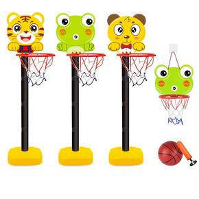 室内外儿童篮球架可升降投篮玩具