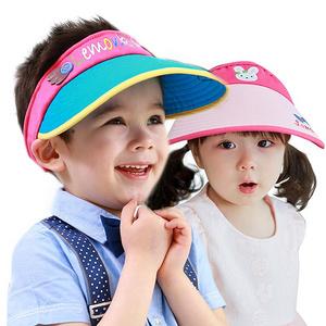 【寶媽必搶】UPF50+大帽檐空頂遮陽帽