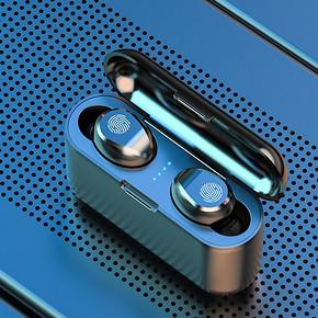 夏新F9蓝牙耳机无线运动跑步耳塞