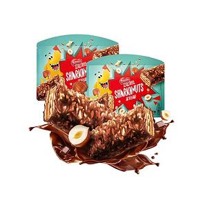 雀巢脆脆鲨鲨刻能200g*2盒榛果味饼干