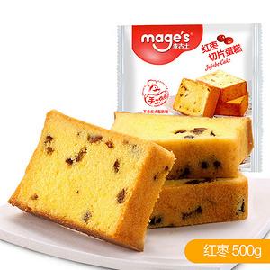 麦吉士 红枣味切片蛋糕500g