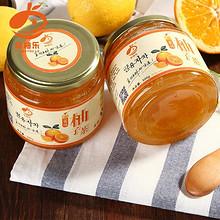新鲜果肉# 常柚乐 蜂蜜柚子茶 500g*2瓶+送木勺 19.9元包邮(29.9-10券)