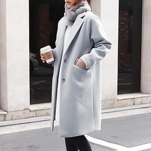 简约百搭# 千馨 加厚呢子西装外套