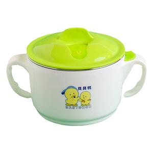 贝贝鸭 宝宝注水保温碗套装