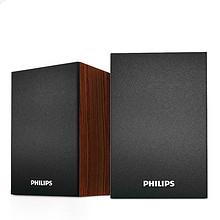 Philips 飞利浦 SPA20 电脑迷你桌面音响 45元包邮(55-10券)