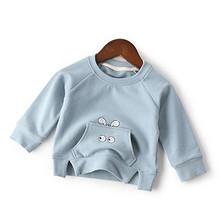 AnSunning 宝宝可爱纯色套头卫衣 19.8元包邮(39.8-20券)