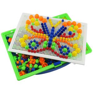 益智动手# 儿童创意插板拼图