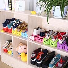 纳美嘉 一体式创意塑料鞋架 10只 23元包邮(38-15券)