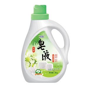 俏歌 清香低泡洗衣液皂液3kg