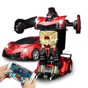 汽车人遥控变形汽车玩具机器人
