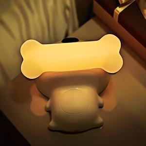 创意充电触摸开关小狗床头灯