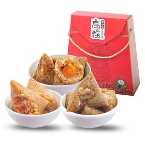 来伊份 蛋黄肉粽粽子礼盒2件