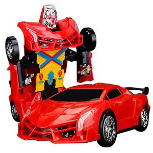 变形金刚4玩具充电遥控汽车人