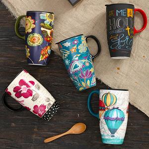 爱屋格林 创意陶瓷大容量马克杯