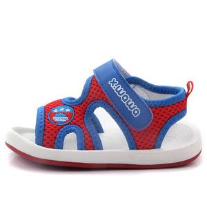 雪娃娃 宝宝软底防滑学步鞋凉鞋