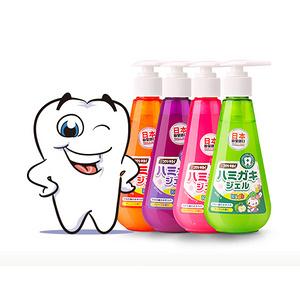 皓齿清 日本进口儿童牙膏150g