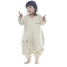 蒂乐 彩棉婴儿薄款分腿睡袋 58元包邮(78-20券)