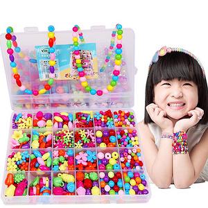 儿童手工串珠玩具700颗