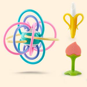 圣贝奇 宝宝牙胶磨牙棒益智玩具