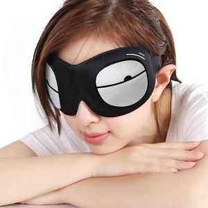 逸活 3D立体卡通遮光睡眠眼罩