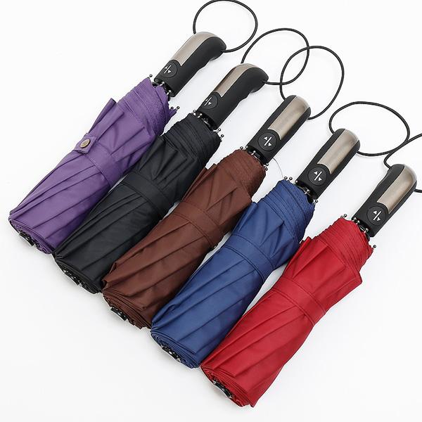 全自动折叠加固防风晴雨两用伞