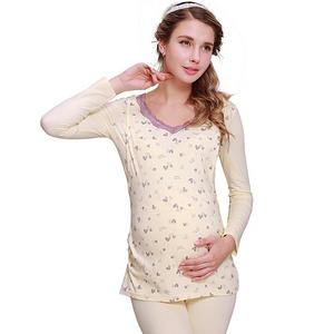 孕妇哺乳保暖秋衣秋裤套装