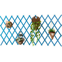田园风尚# 家用实木网格壁挂式花盆架42cm 12元包邮(15-3券)