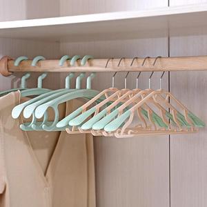 家用塑料无痕多功能衣架20支