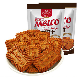 诺丁 比利时风味焦糖饼干2袋600g