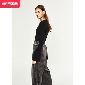 C&A 百褶喇叭袖针织衫女
